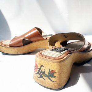 "SOLD Vintage 70s ""MIA"" Brazilian Platform Sandals"